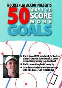50 Ways To Score More Goals is available for purchase at HockeyPlayer.com and coming soon to national retailers.